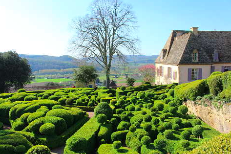 Image of the beautiful Dordogne Valley